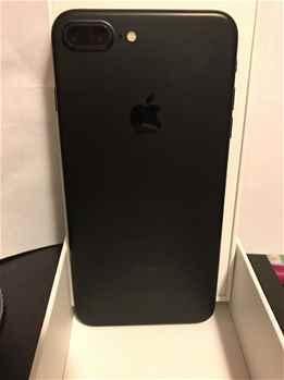 Apple iPhone 7 Plus 4G Phone 256GB, Matte Black